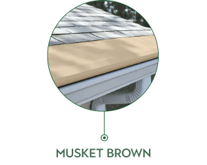 Mustket Brown Gutters