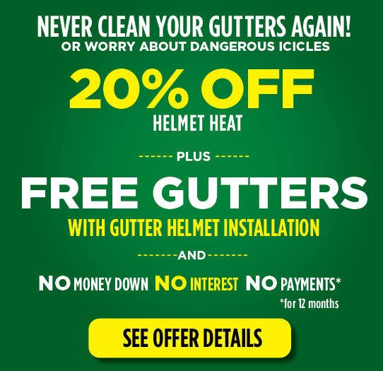 Gutter Helmet Special Offer